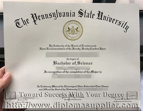 Bs Mba Penn State by How To Buy Psu Degree Pennsylvania State