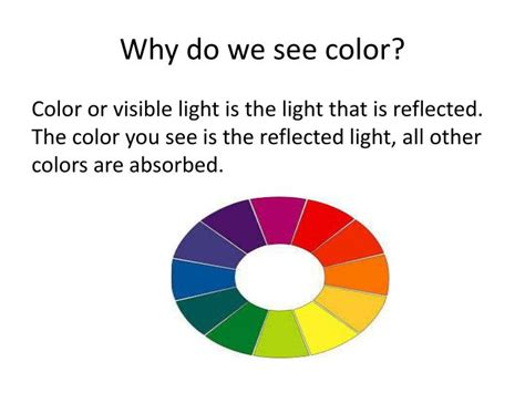 why do we see color ppt light and color powerpoint presentation id 1535335