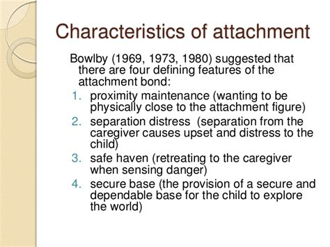 Attachment Theory Essay by Bowlby Attachment Theory Essay