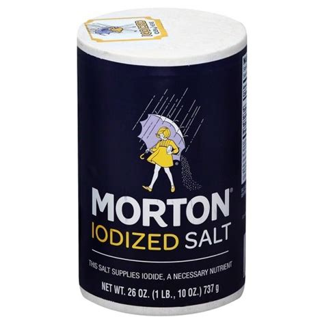 is table salt iodized morton 174 iodized salt 26oz target