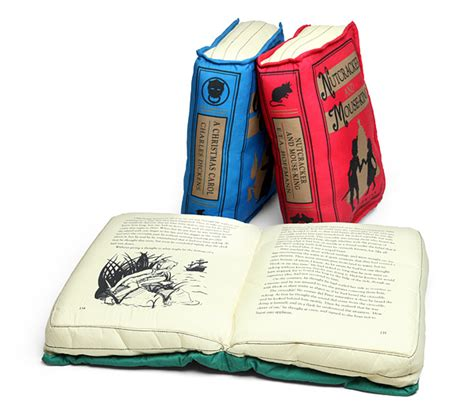How To Make A Book Pillow by Olde Book Pillow Classics Thinkgeek