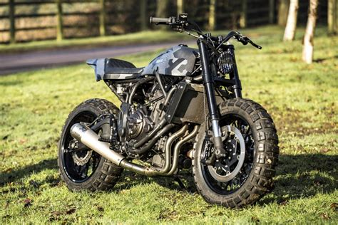 Motocross Tieferlegen by Yamaha Xsr700 Crafts Transformation Xsr 700