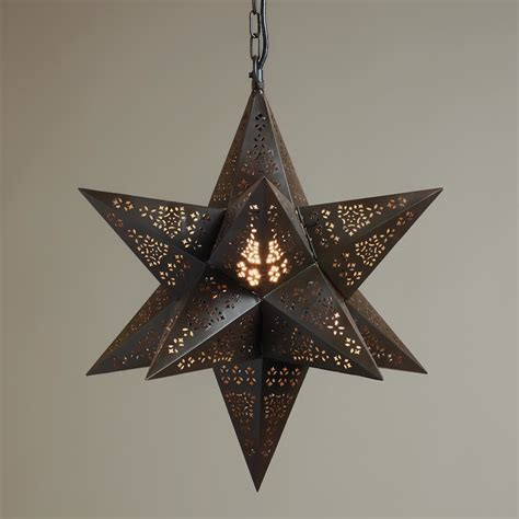 Moravian Pendant Light Fixture That Will Brighten