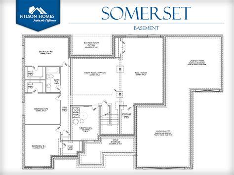 somerset floor plan somerset floor plan rambler new home design nilson homes