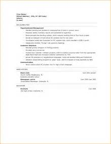 Sle Resume High School Graduate by 3 High School Graduate Resume Bibliography Format