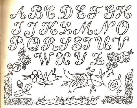 tattoo alphabet transfers embroidery transfer fonts handlettering pinterest