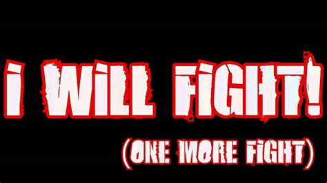 last fight bullet for my bullet for my the last fight