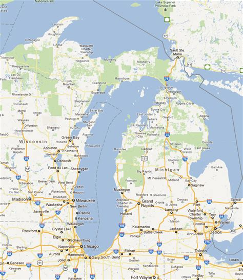 lake michigan map map of northern michigan lakes pictures to pin on pinsdaddy