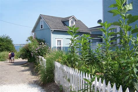 Cottages Hshire Coast by Free Photo House Picket Fence Free Image