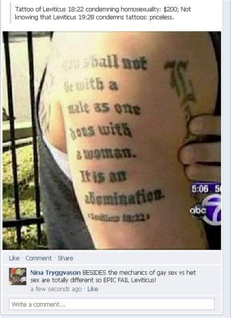 leviticus tattoo fail a two time epic fail the shut in stand up