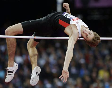 jump olympics 2012 high jump derek drouin wins bronze for canada