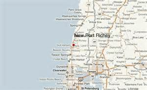 map of new port richey florida new port richey location guide