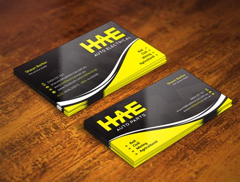 Auto Dealer Business Cards