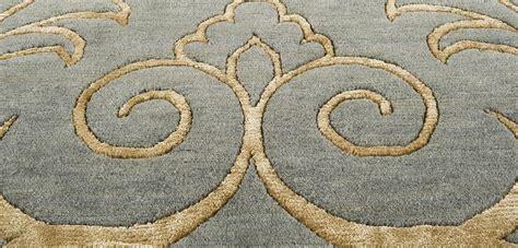Modern tapete oriental moderno nepal arabesco seda