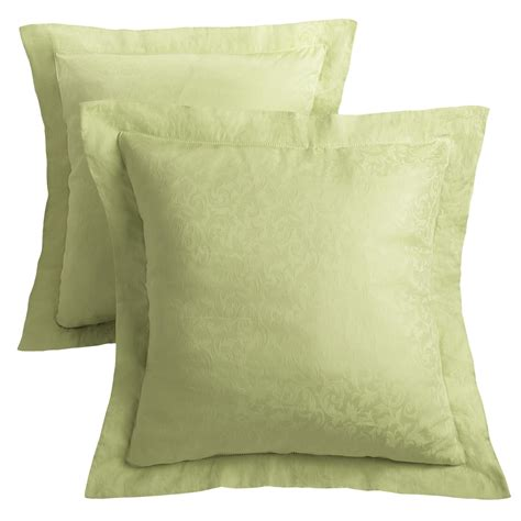 What Are Pillow Shams by Downtown Paula Jacquard Pillow Shams 400 Tc Set