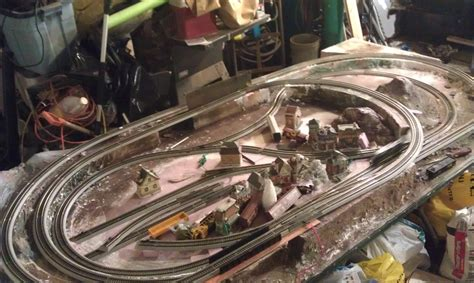 ho layout video ho train layout 4x8 added a reverse loop brep flickr