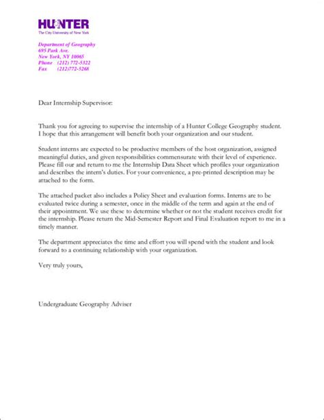 Thank You Letter For Pre K 9 internship thank you letter sles templates free