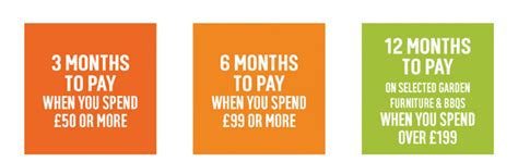 argos card make payment 3 months to pay when you spend 163 50 6 months to pay
