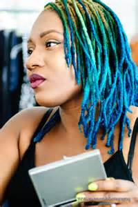 color dreads blue ombre dyed dreads dreadlocks