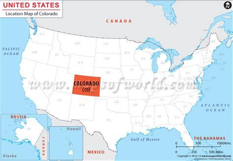 colorado state in usa map where is colorado located location map of colorado