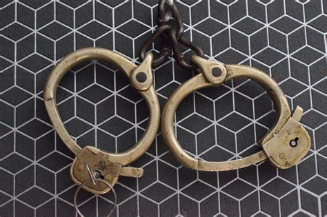 ottoman traduction ottoman handcuffs turkey catawiki