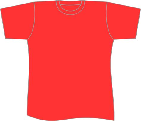 red t shirt layout plain t shirts designkaosbandung