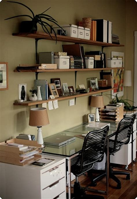 Dual Desks Home Office Dual Desk Office Space Repurpose Pinterest