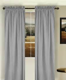 Curtains For Kitchen Door by Solid Light Silver Gray Colored Window Long Curtain