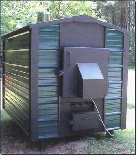 Small Mobile Home Furnace How An Outdoor Woodburning Furnace Works Ehow