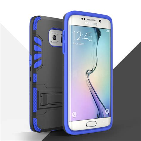 Rugged Armor Samsung S7 Edge 1 for samsung galaxy s7 edge defender rugged armor kickstand clip holster ebay