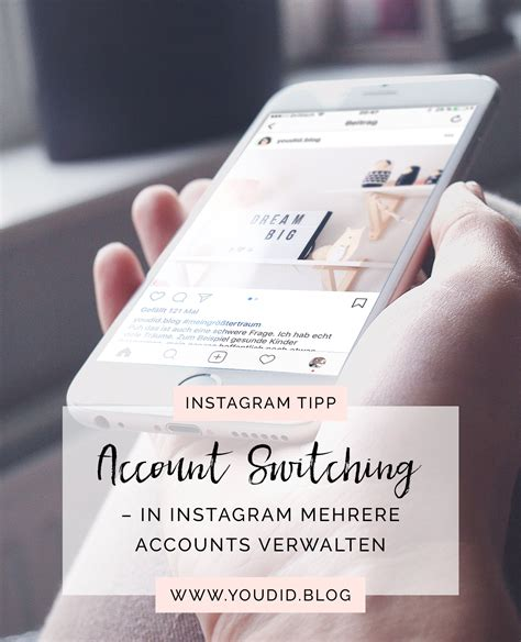Tutorial Accounts On Instagram | account switching in instagram mehrere accounts