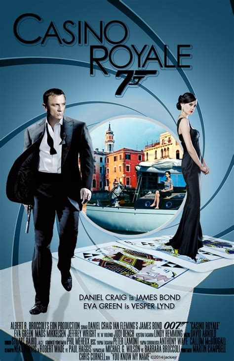 film james bond adegan panas casino royale james bond movie artwork by jackiejr