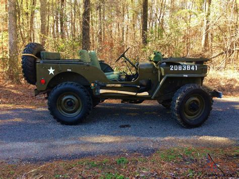 willys military jeep 1950 willys m38 mc army military jeep