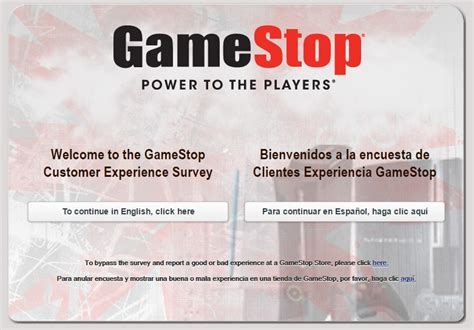 Www Tellgamestop Com Sweepstakes - tellgamestop survey completion guide at gamestop survey marketforce com surveyassistants