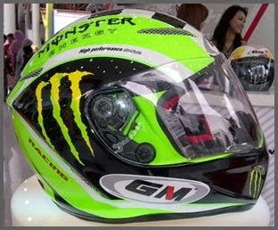 Helm Gm Khusus Drag Helm Gm Terbaru Drag Bike Series Penghuni Dumay