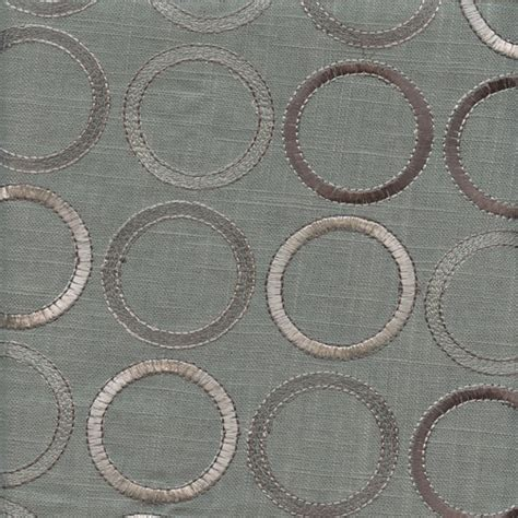 embroidered linen drapery fabric society grove smoke grey embroidered linen drapery fabric