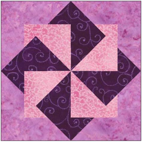 Origami Quilt - origami pinwheel quilt block pattern by feverishquilter