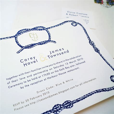 Wedding Invitations Knot by Illustrated Wedding Invitations From Me E