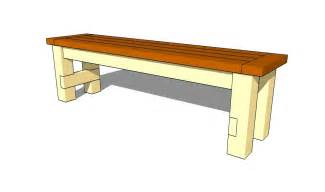 dining table and bench plans download