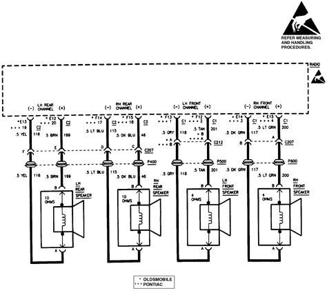 2003 buick century radio wiring diagram 2003 wiring