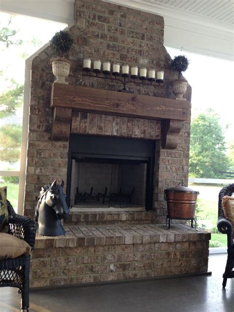 Back To Back Fireplaces by Back Porch Fireplace Home