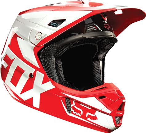 red motocross helmets 190 68 fox racing v2 race mx helmet 199172