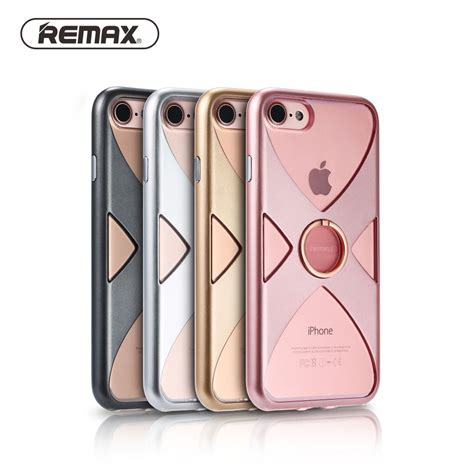 Original Remax Stand Phone Holder Berkualitas mobile phone cases for apple iphone 7 original remax tpu pc frame ring holder stand phone