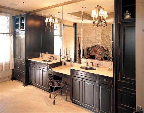 bathroom cabinets with knee space glamorous dressing table with mirror fashion other metro traditional bathroom image ideas with