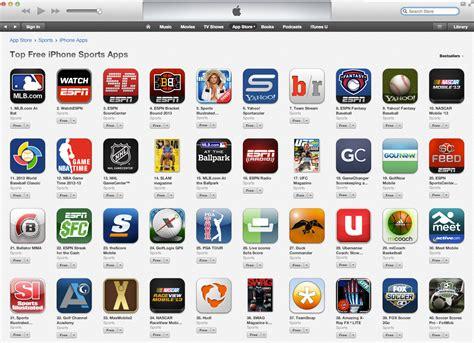 mobile sport teamsnap mobile app in itunes top 40 list