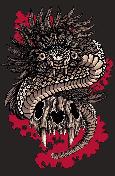 imagenes calaveras aztecas m 225 s de 25 ideas incre 237 bles sobre tatuajes de quetzalcoatl