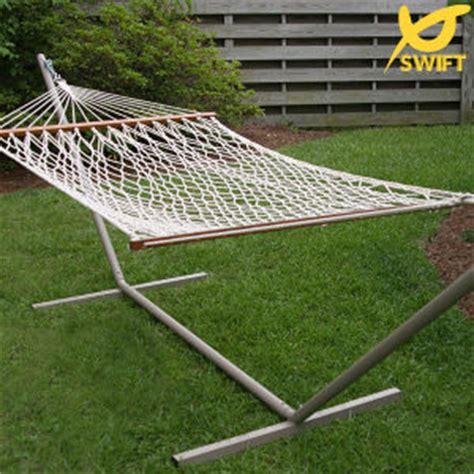 china hammocks rope single person steel hammock stand