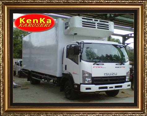 Box Truk Freezer truck truk isuzu box pendingin chiller freezer