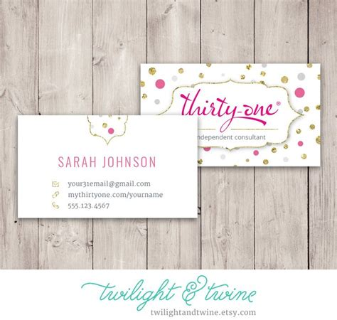 Template 8x4 Card Vistaprint by 54 Best Images About Thirty One Scentsy Business Cards