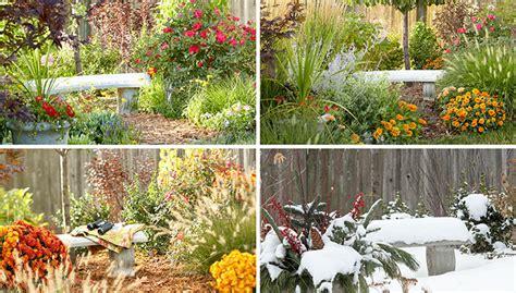 The Garden Four Seasons by Four Season Garden Bed